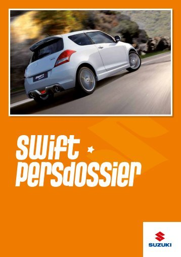 Persdossier Swift - Suzuki Press Corner