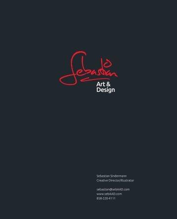 Portfolio as a PDF - Sebastian | Art & Design