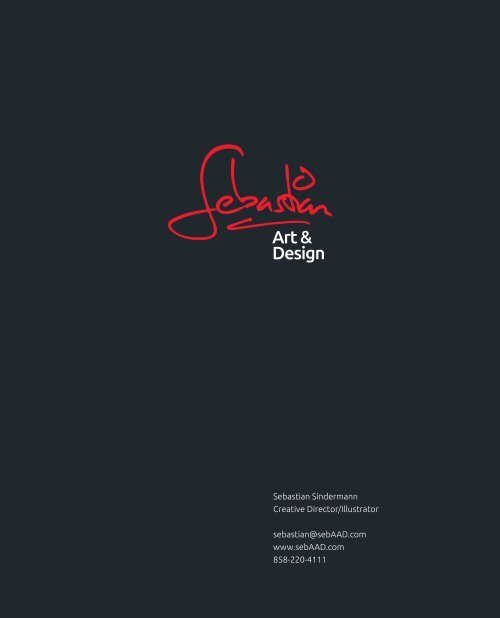 Portfolio As A Pdf Sebastian Art Design