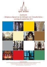 Roadbook en vragenlijst - Open kerken