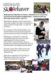 Københavns Skolehaver byder velkommen til vinterens og forårets ...