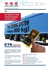 the lightest trailer steering system on the market - Imslimited.com