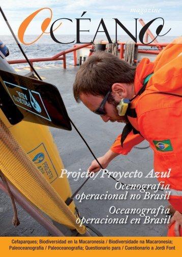 Projeto/Proyecto Azul - Magazine Océano