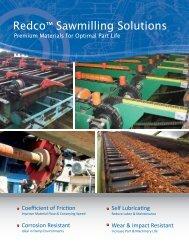 Redco™ Sawmilling Solutions - Redwood Plastics