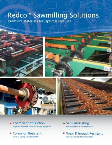 Redco™ Sawmilling Solutions - Redwood Plastics