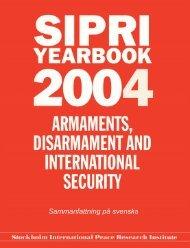 SIPRI Yearbook 2004, Sammanfattning på svenska