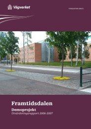 Framtidsdalen utvärderingsrapport 2006-2007 s 1 ... - Exempelbanken