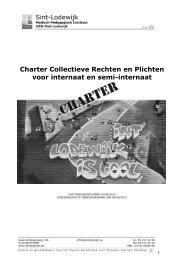 Charter Collectieve Rechten en Plichten voor internaat en semi ...