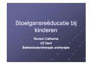 Stoelgansreëducatie bij kinderen - Stomavlas