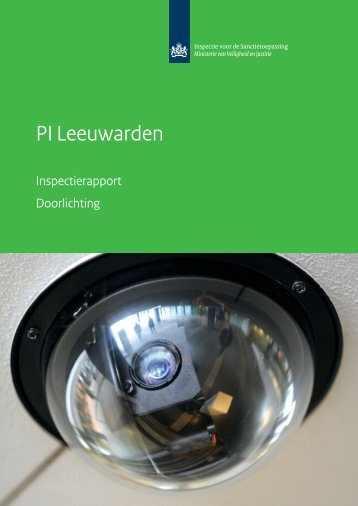 Inspectierapport PI Leeuwarden - Inspectie Veiligheid en Justitie