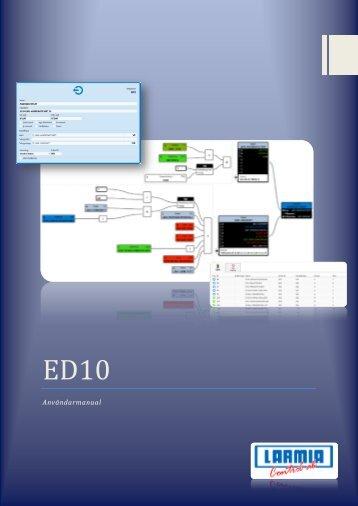 ED10 Användarhandbok (pdf) - Larmia Control AB