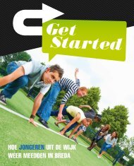 hoe jongeren uit de wijk weer meedoen in breda - Get Started