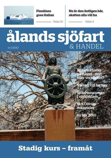 Nr 1/2010 - Ålands Sjöfart