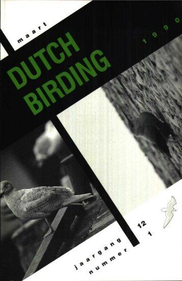 1990-1 - Dutch Birding
