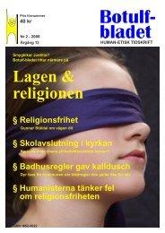PDF-format - HEF - Human-Etiska Föreningen