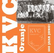 11 maart 1911 - KVC Oranje