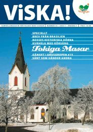 VISKA 2006-1.indd - Veddige nu