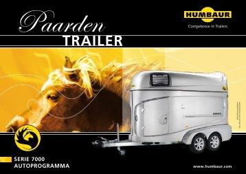 Humbauer paardentrailer - A1 Aanhangwagens