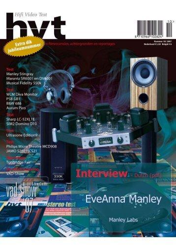 EveAnna Manley - Beta Audio