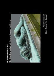 document: catalogus In Steen en brons - CC Ter Vesten Beveren