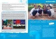 Nyhetsbrev från Daklak i Vietnam - ActionAid