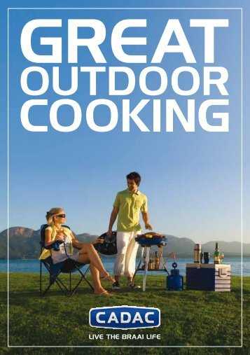 Recepten boek Carri Chef NL - Cadac