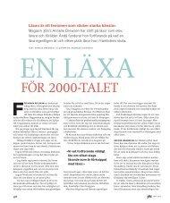 för 2000-tALEt - Skolporten