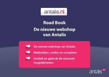 Road Book De nieuwe webshop van Antalis