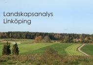 Landskapsanalys Linköping - Ferrivia AB