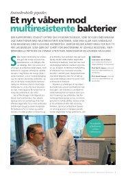 Et nyt våben mod multiresistente bakterier