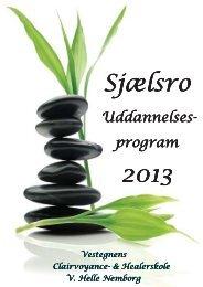 (Sjælsro Uddannelsesprogram 2013) - onlinePDF