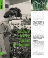 'Jan Ford' bleef in zijn hart een tuinman - Vrienden van het ...