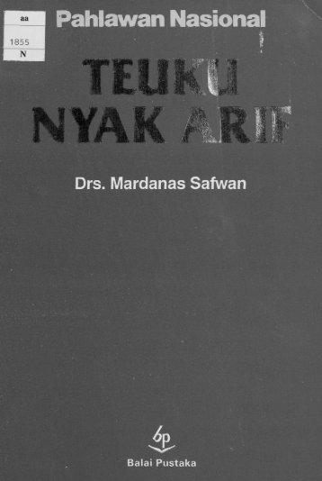 teuku nyak arif - Acehbooks.org