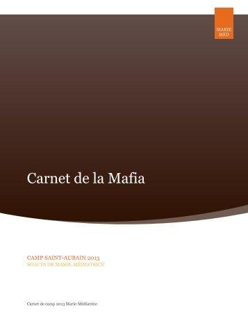 Télécharger le carnet de camp (PDF) - Marie-Med