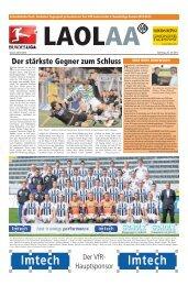 VFR Stadionzeitung - Schwäbische Post