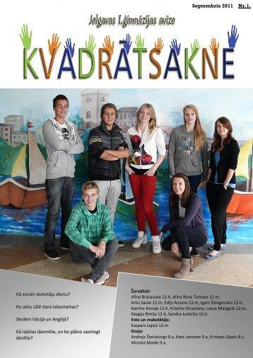 2011.g. septembris Nr.1 - Jelgavas 1. ģimnāzija