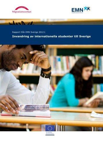 Invandring av internationella studenter till Sverige - EMN