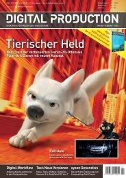 Virtuelle Rekonstruktionen, Digital Production 1/09 - Mach:Idee
