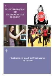Download brochure - Zelfverdediging