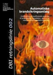 Retningslinie 002 - Dansk Brand- og sikringsteknisk Institut