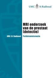 MRI onderzoek van de prostaat (detectie) - De Prostaatkliniek
