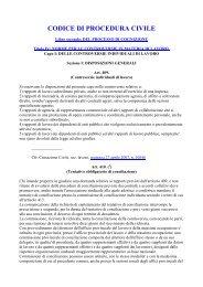 Norme per le controversie in materia di lavoro - Studio Legale ...