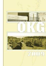 Årsberättelse 2009 - OKG AB