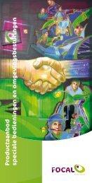 Brochure Speciale bedieningen - Focal Meditech