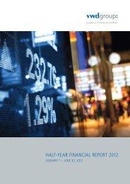 HALF-YEAR FINANCIAL REPORT 2012 - Vwd