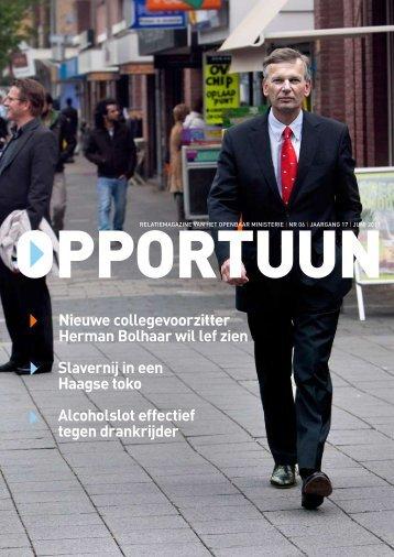 Nieuwe collegevoorzitter Herman Bolhaar wil lef zien Alcoholslot ...