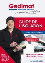 L'ISOLATION - Gedimat
