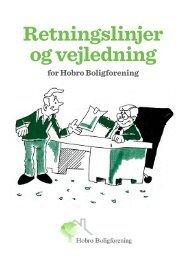 Retningslinjer og vejledning - Hobro boligforening