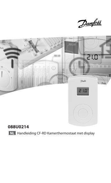 CF-RD Kamerthermostaat met display