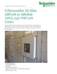 ASEA ALG för ställverk VMG 400V-690V - Schneider Electric